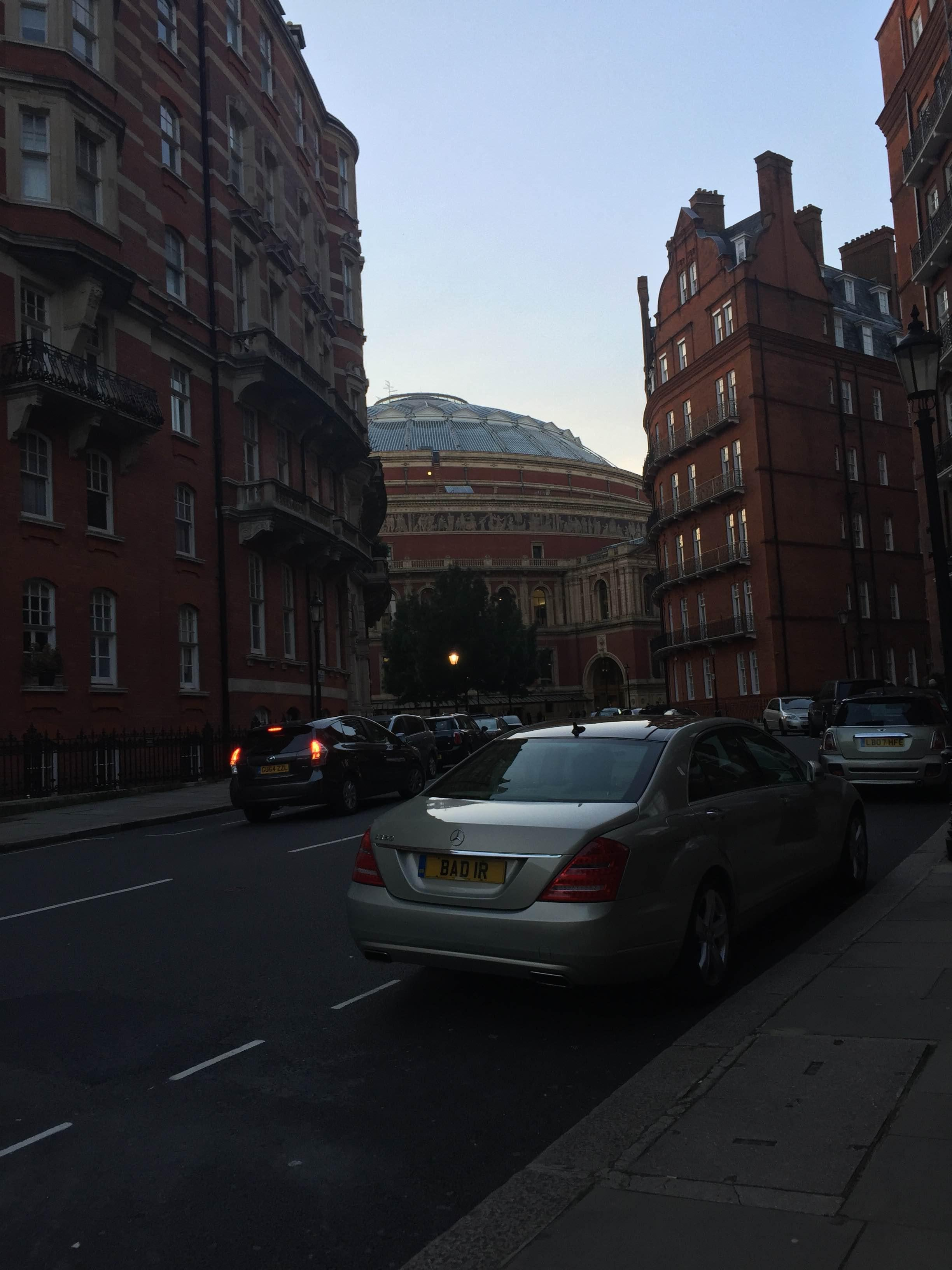 Amanecer en Royal Albert Hall