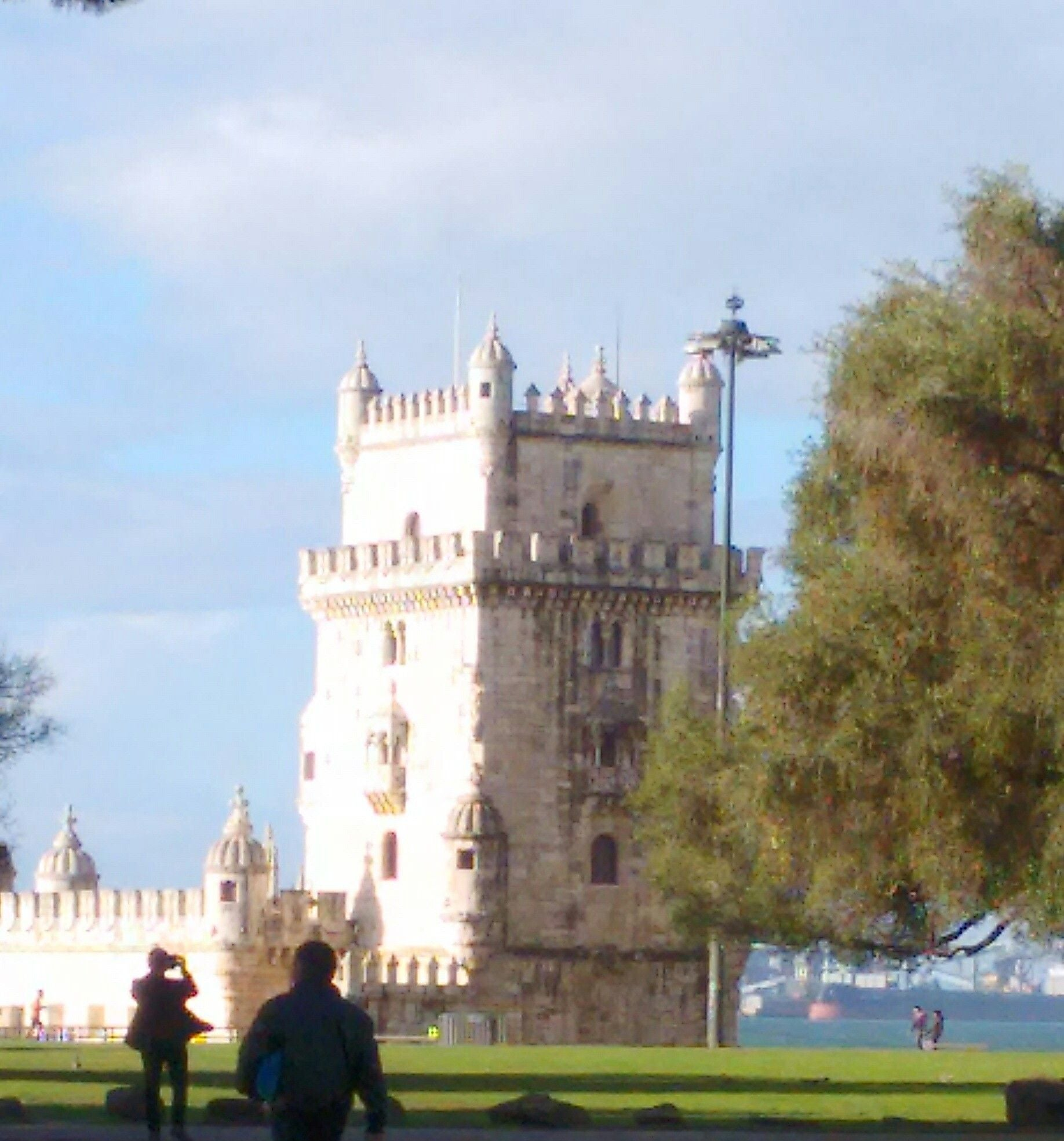 Building in Belém Tower