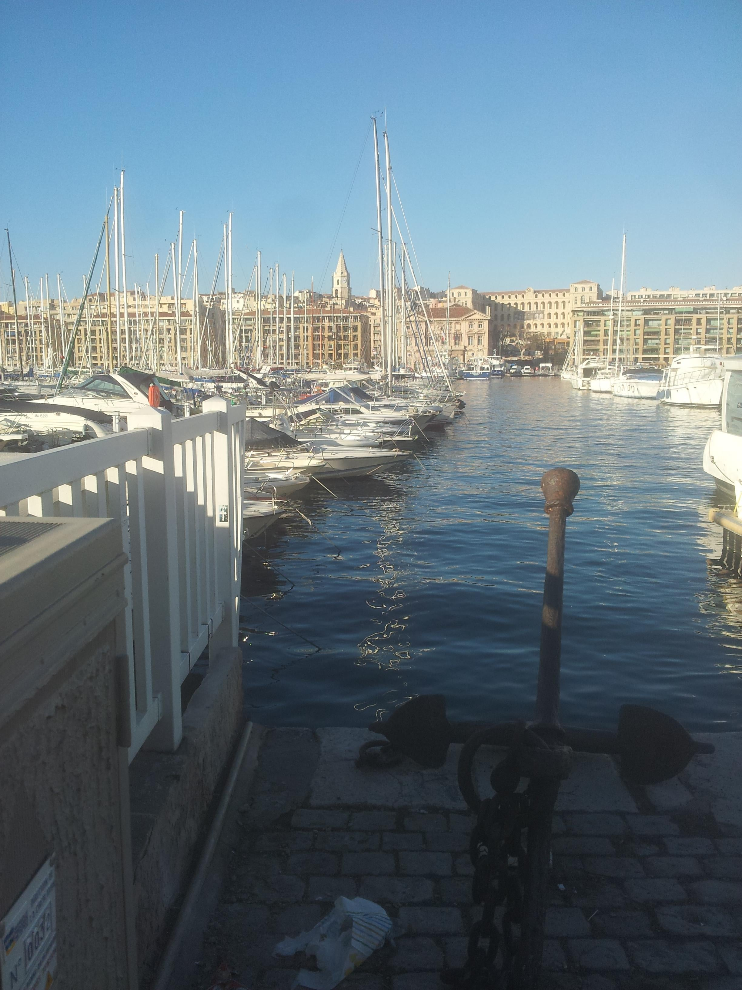 Reflection in Port of Marseille