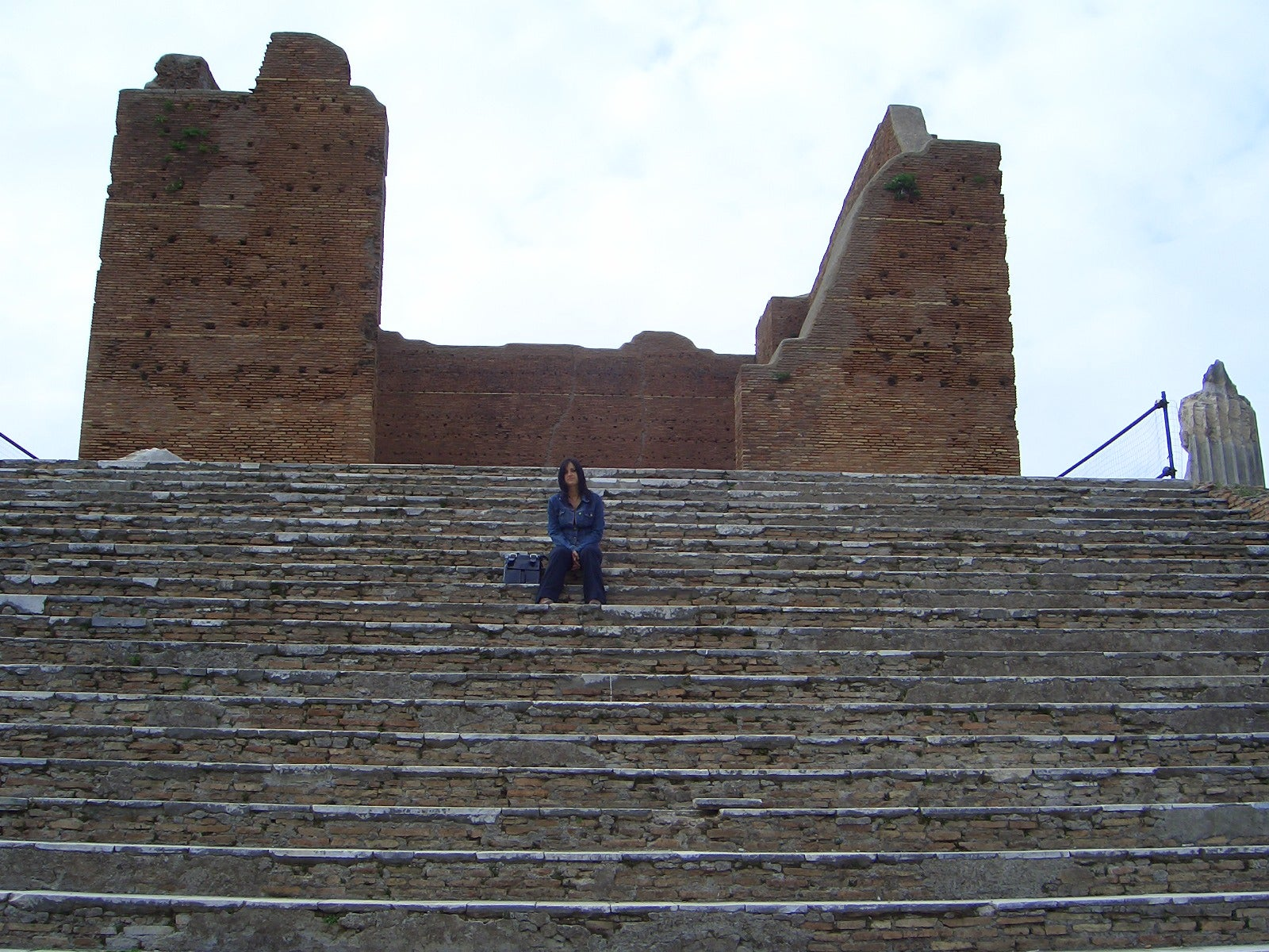 Pared en Ostia Antica