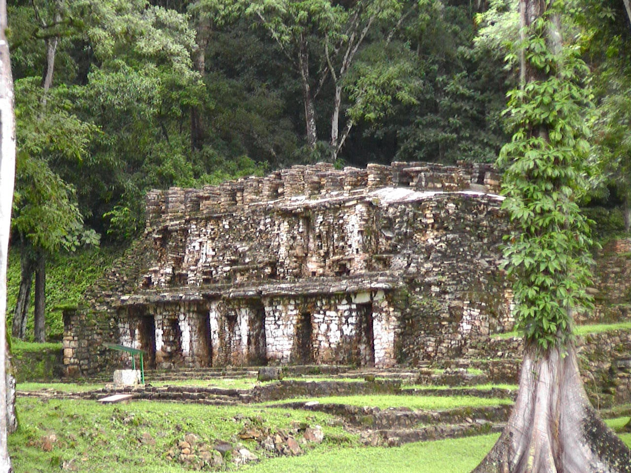 Ruins of Yaxchilán