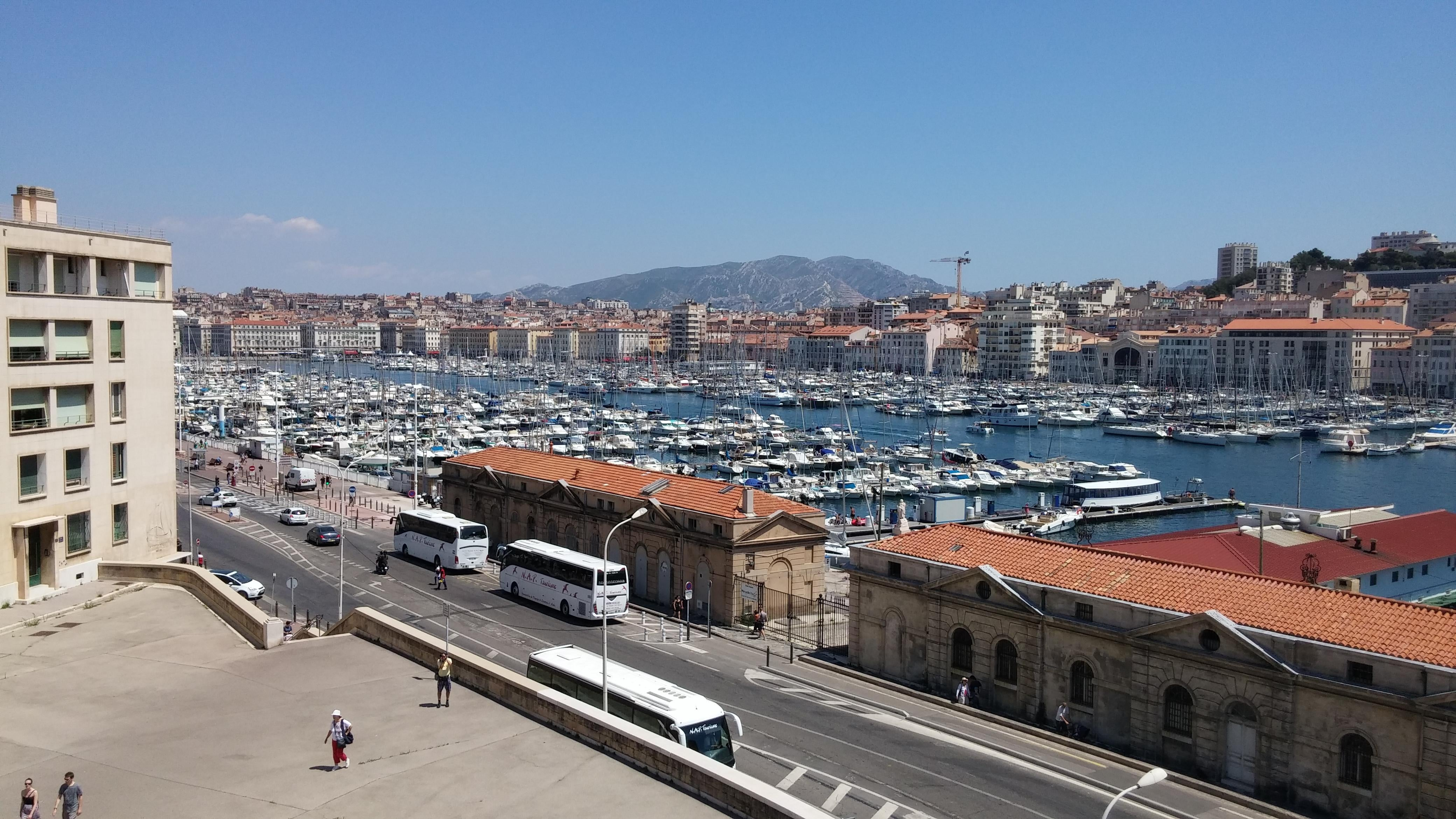 City in Port of Marseille
