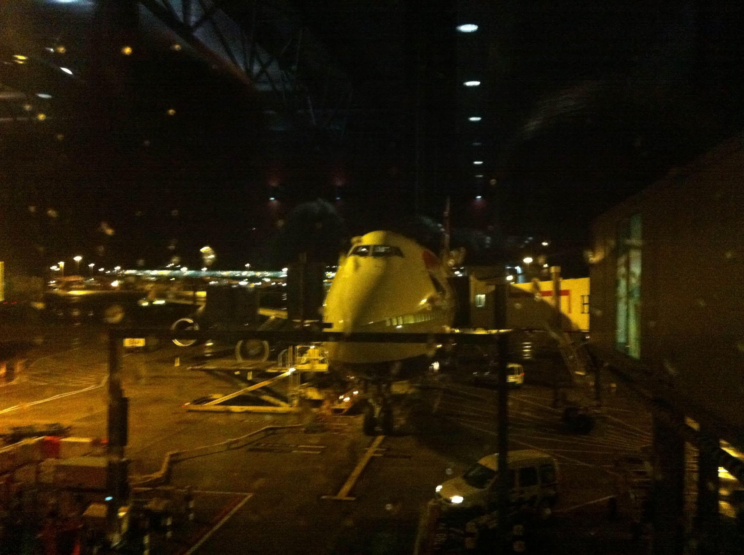 Noche en Aeropuerto de Londres - Heathrow