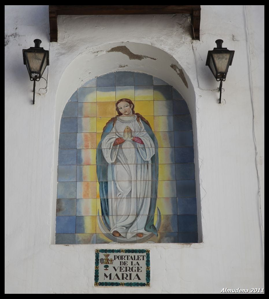 The Portalet of the Virgin Mary