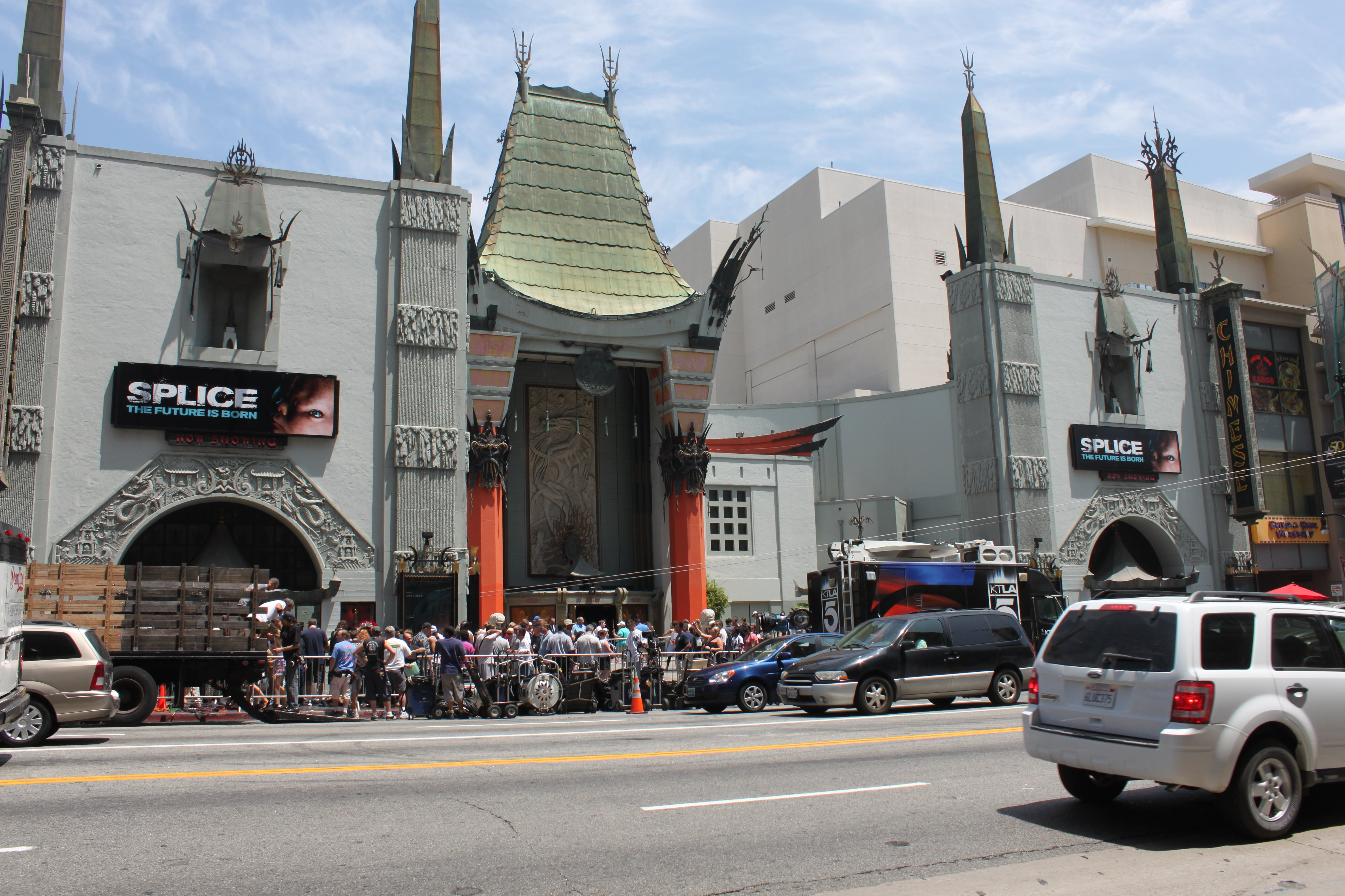 Calle en Grauman's Chinese Theatre