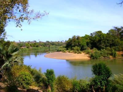 Along the Gambia River