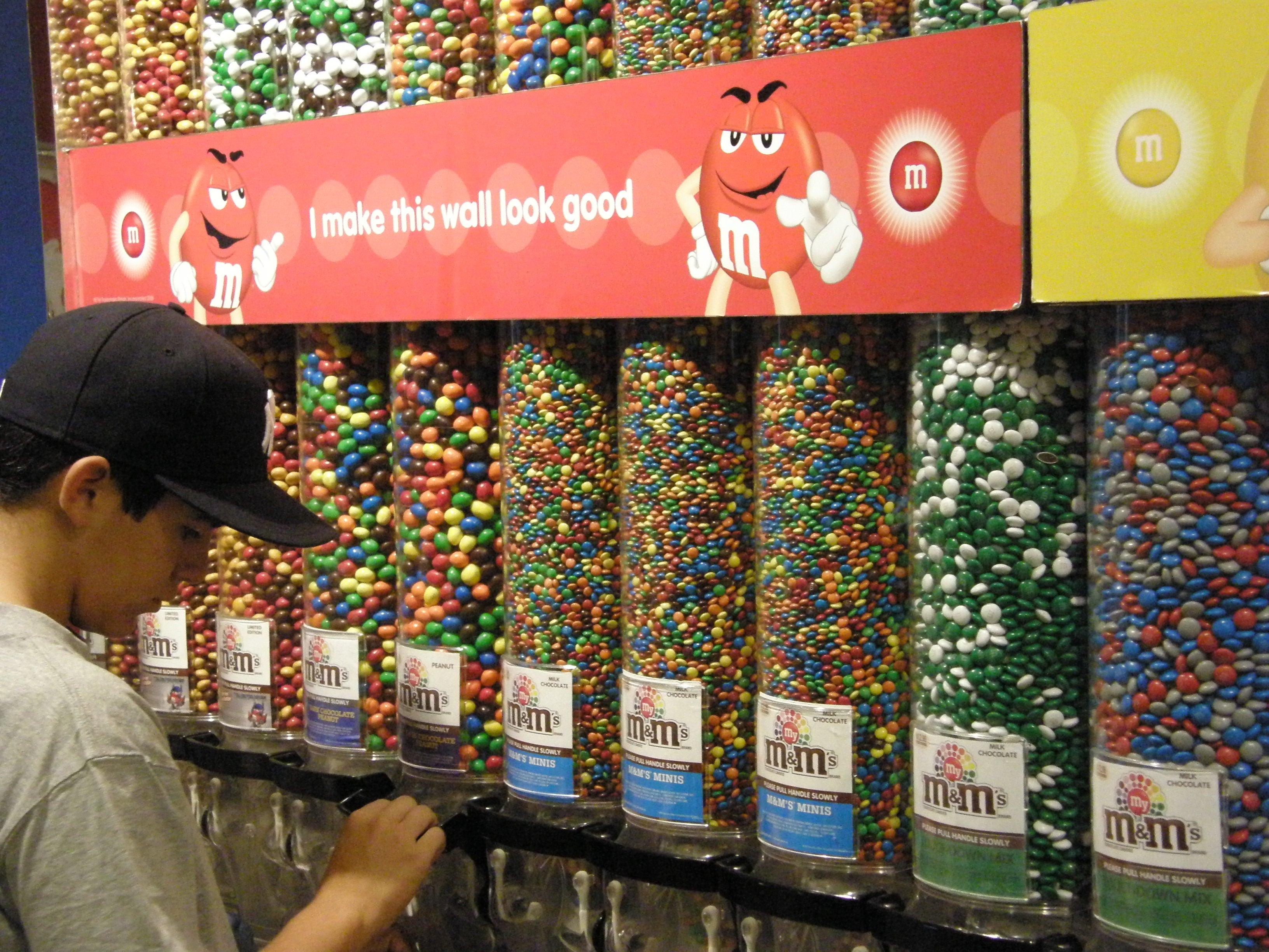Persiana en M&M'S World