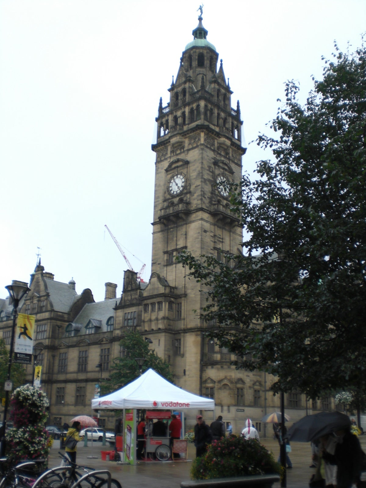 Torre en Sheffield