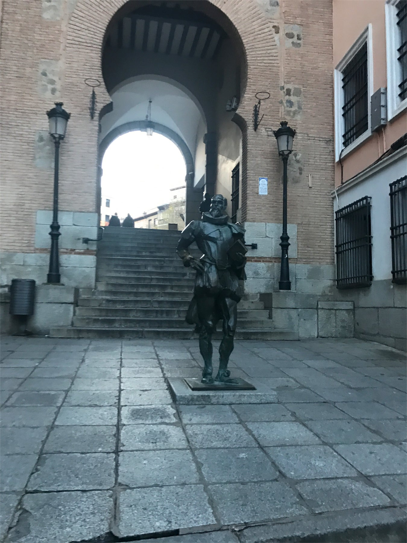 Estatua de Cervantes