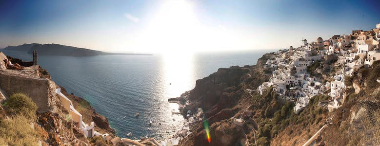 Viewpoint of Oia