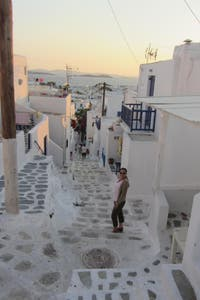 Photos Of Mykonos Old Town Images
