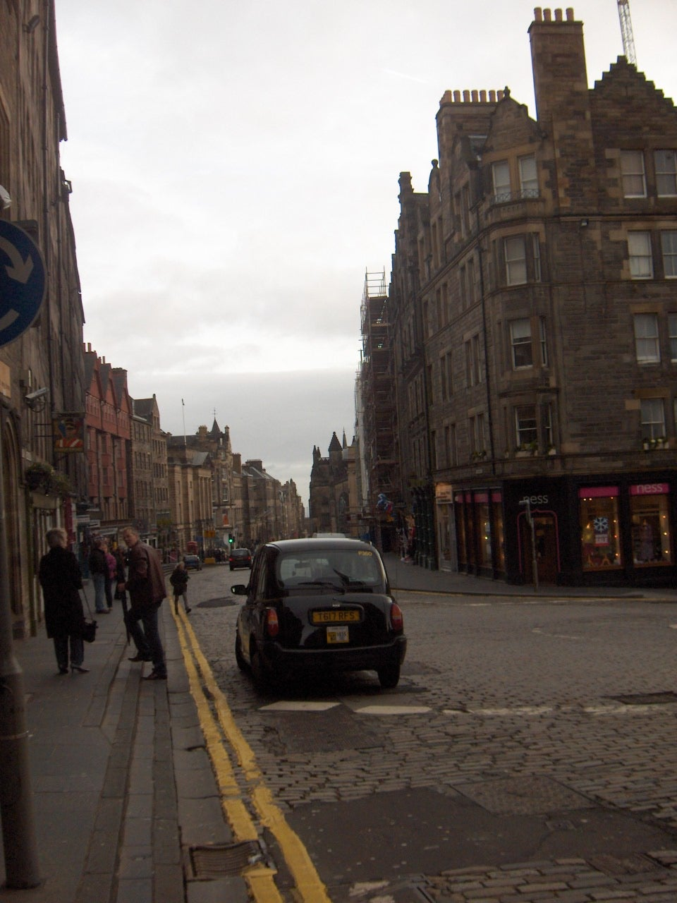 Amanecer en Royal Mile