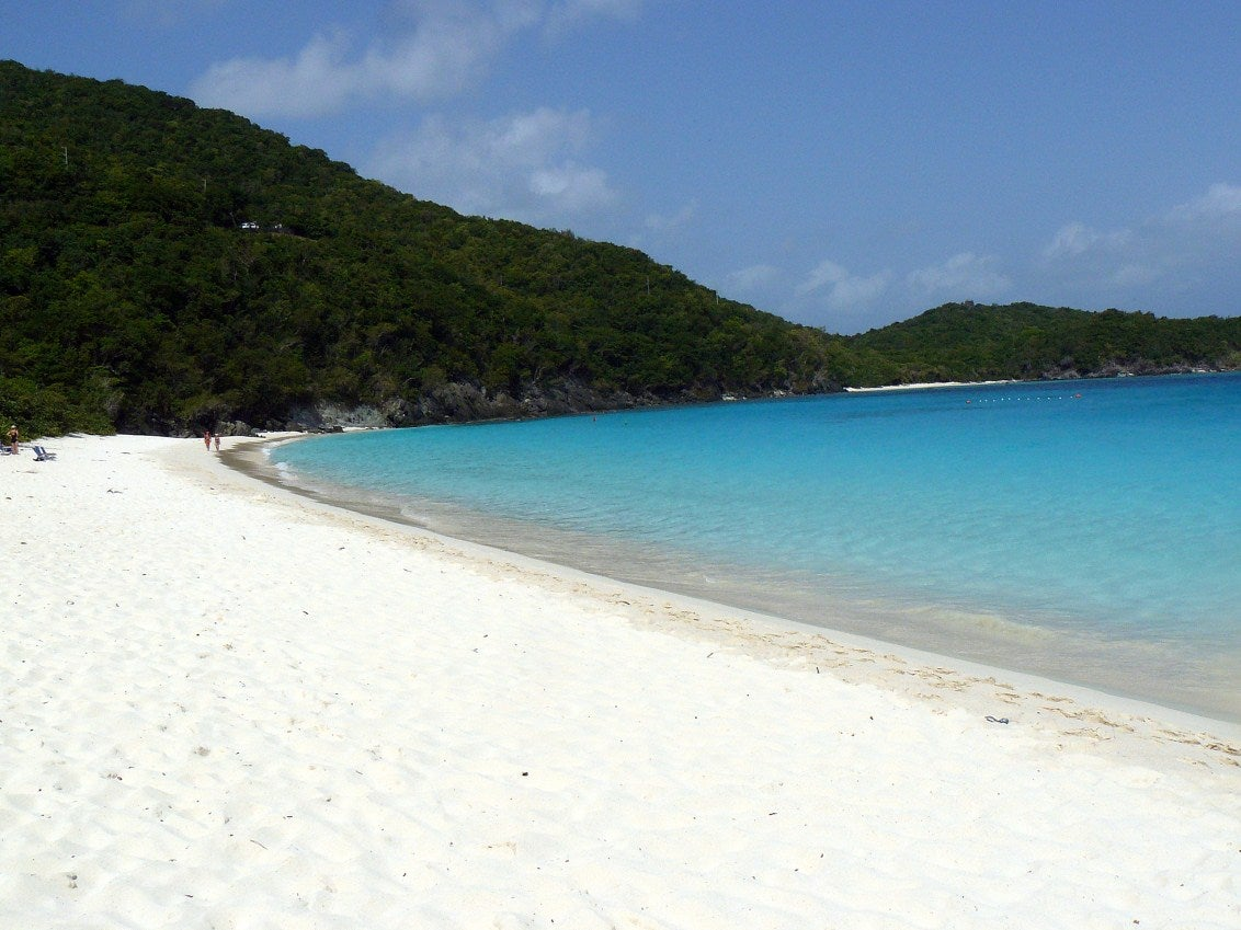 Playa en Trunk Bay