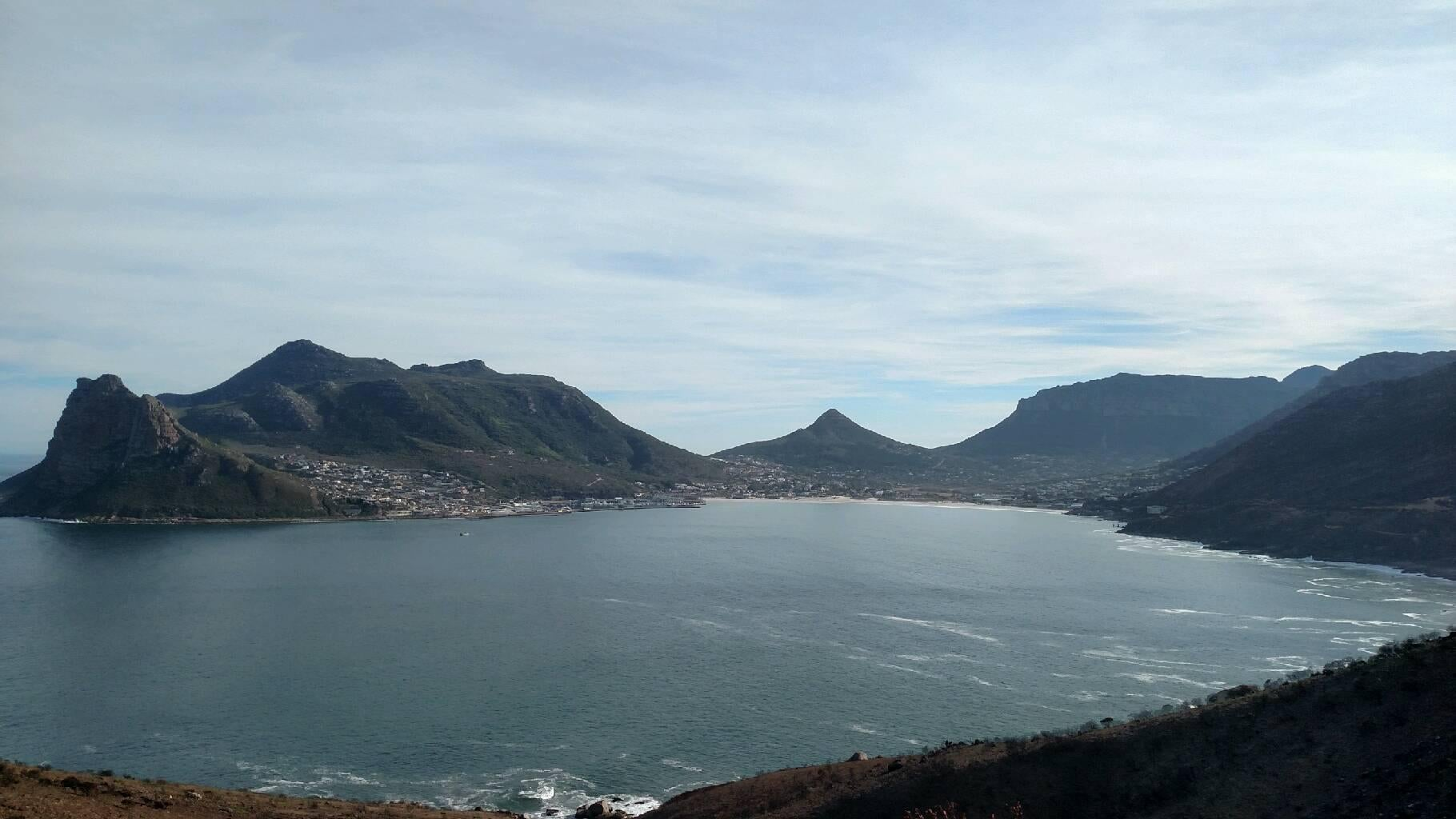 Embalse en Chapman's Peak Drive