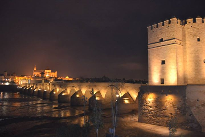 Winter in Roman Bridge of Córdoba