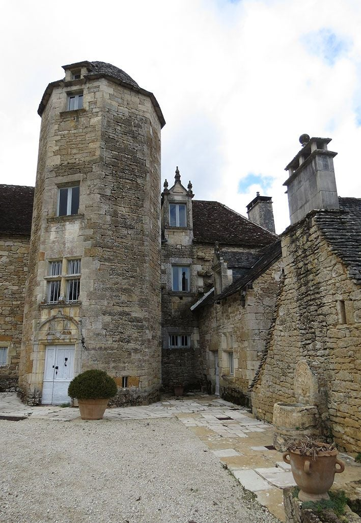 Monastery in Château des Chabannes