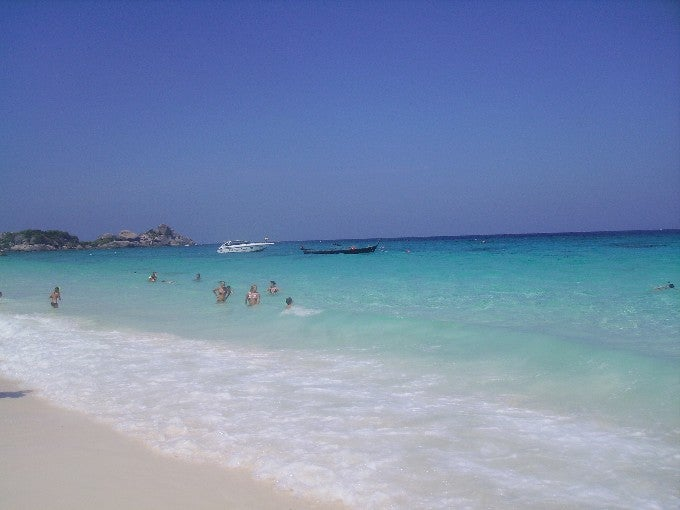 Zona tropical en Islas Similan