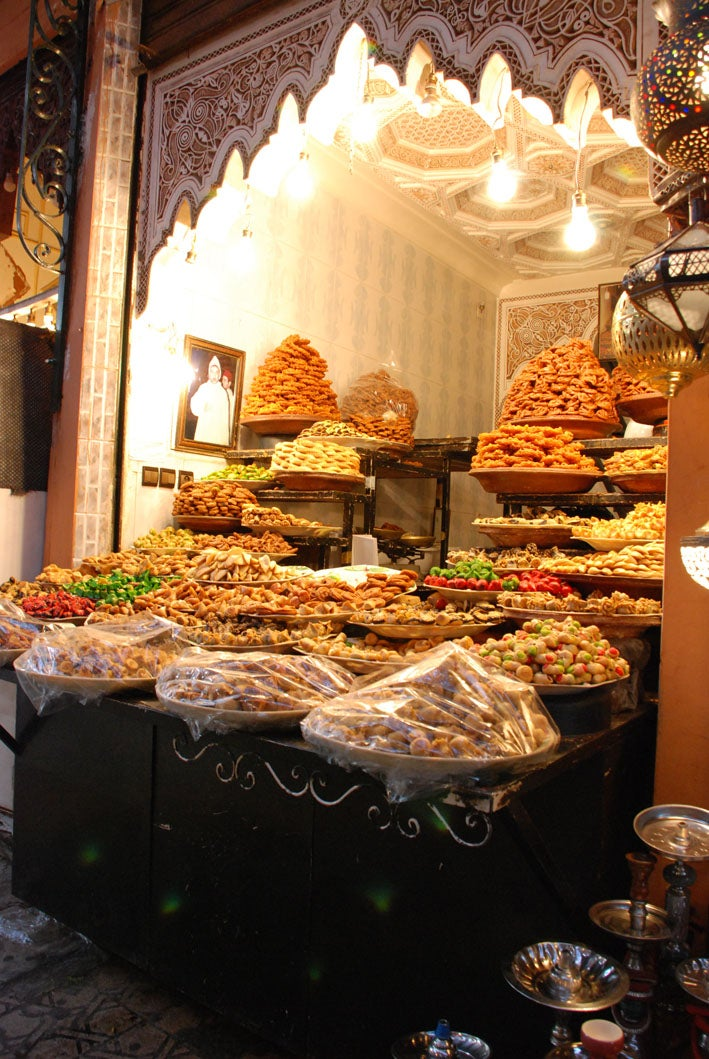 Moroccan Sweets Shops