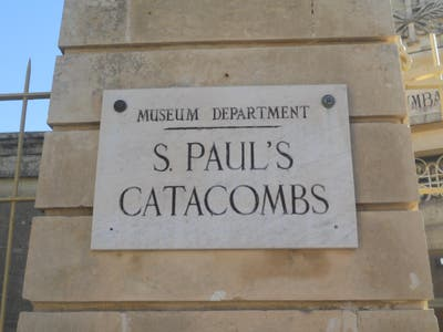 Catacombs of St Paul and St Agatha