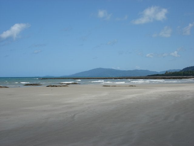 Playa en Cape Tribulation