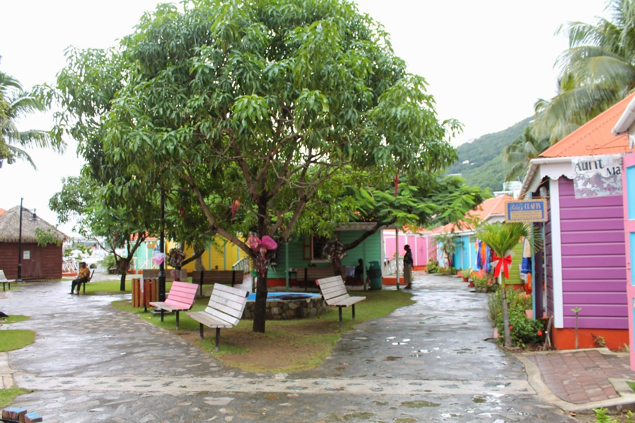 Pueblo en Virgin Gorda
