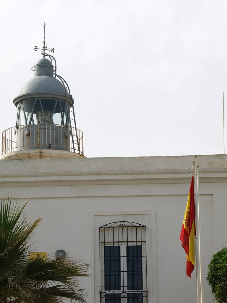 Garrucha lighthouse