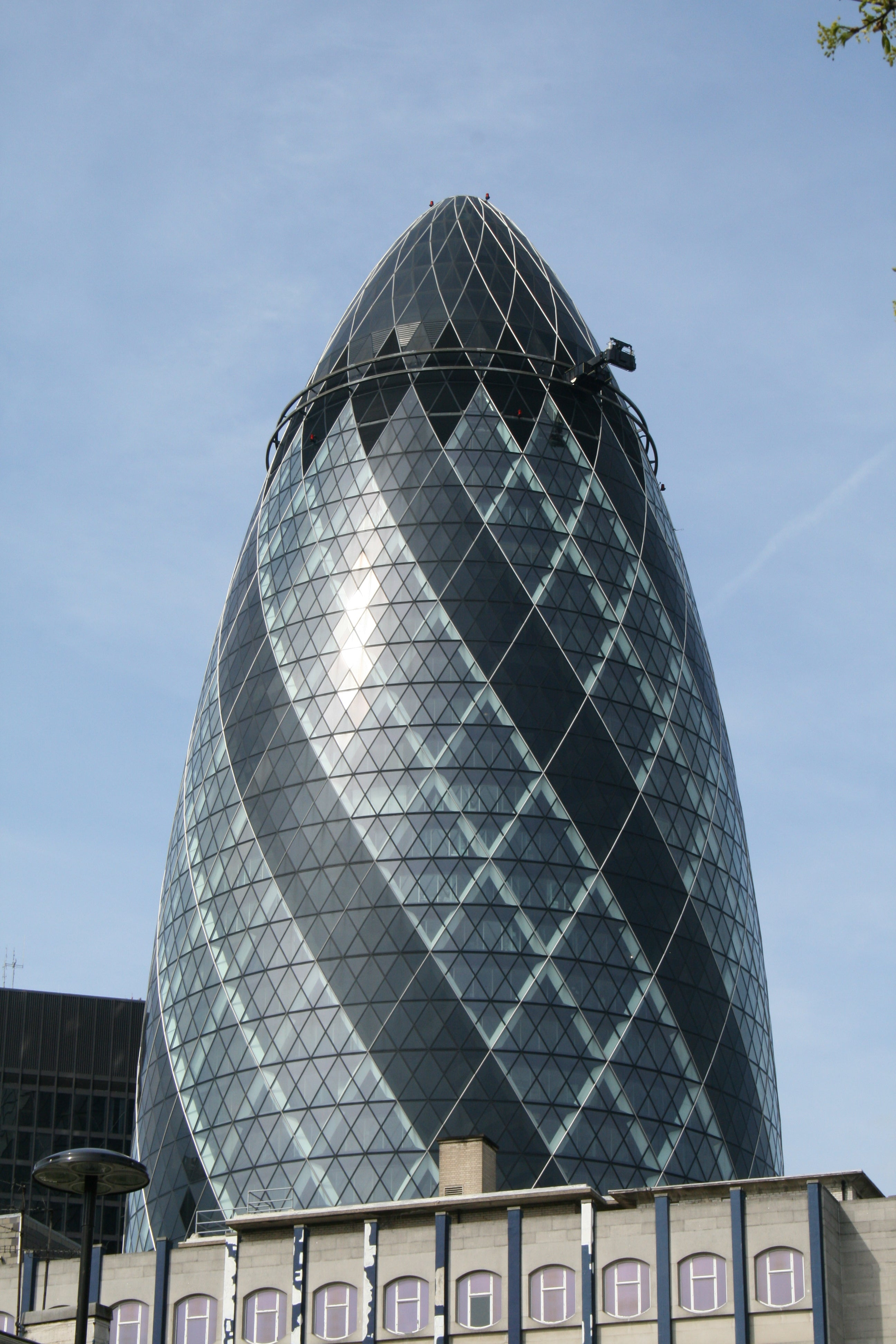 Arquitectura en Swiss Re Tower - Torre Gherkin