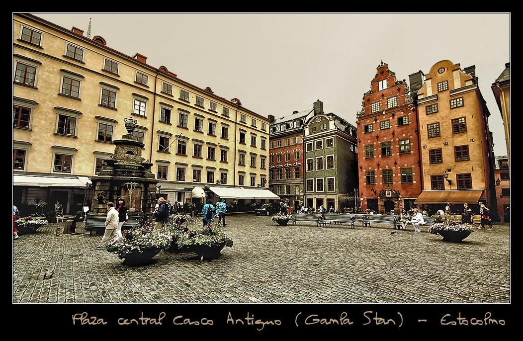 Gamla Stan (the Old Town of Stockholm)