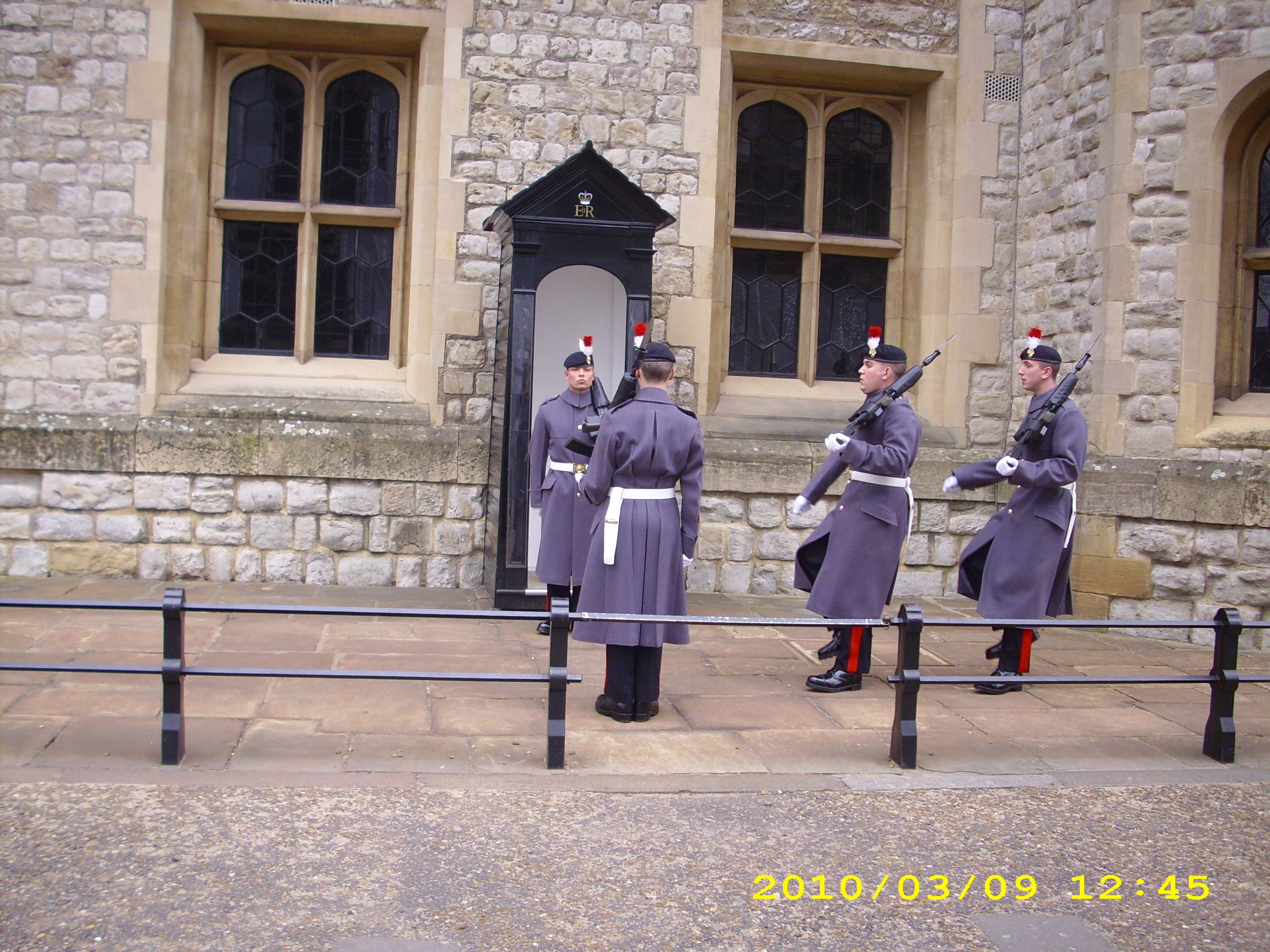 Cambio de guardia en el Buckingham Palace