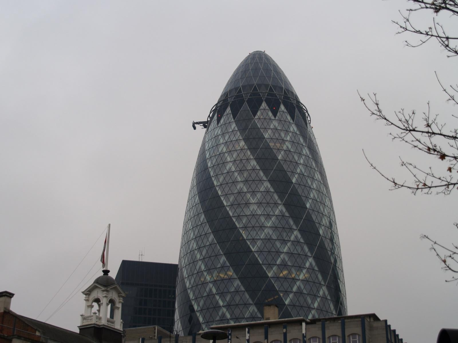 Campanario en Swiss Re Tower - Torre Gherkin