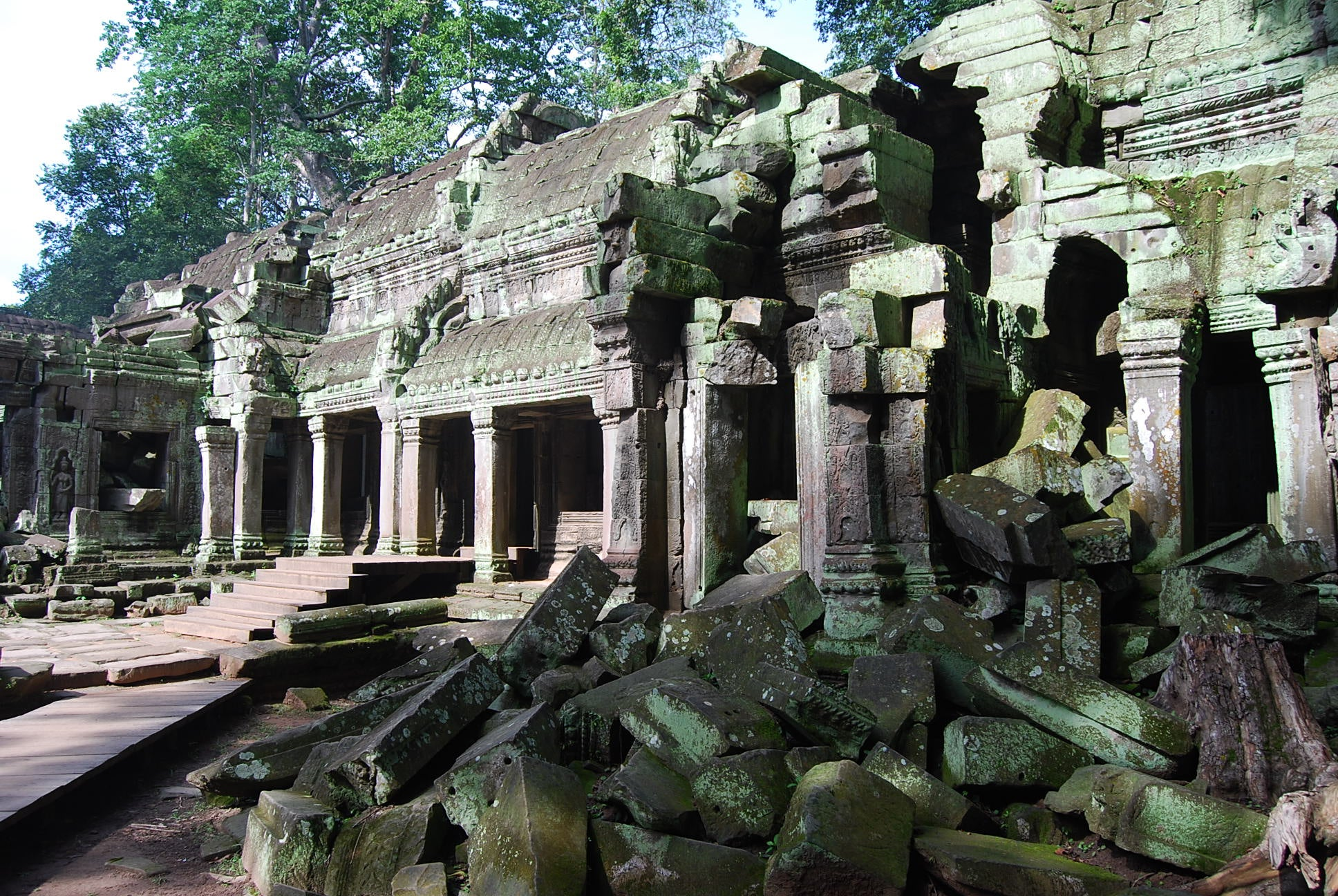 Edificio en Ta Prohm