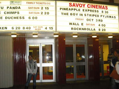 Savoy cinema, Nottingham