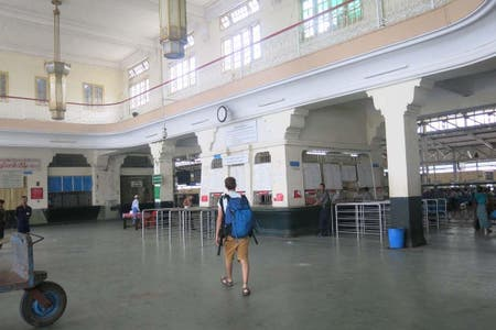 Estación de tren Yangon Central