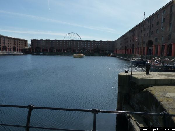 Embalse en Royal Albert Dock