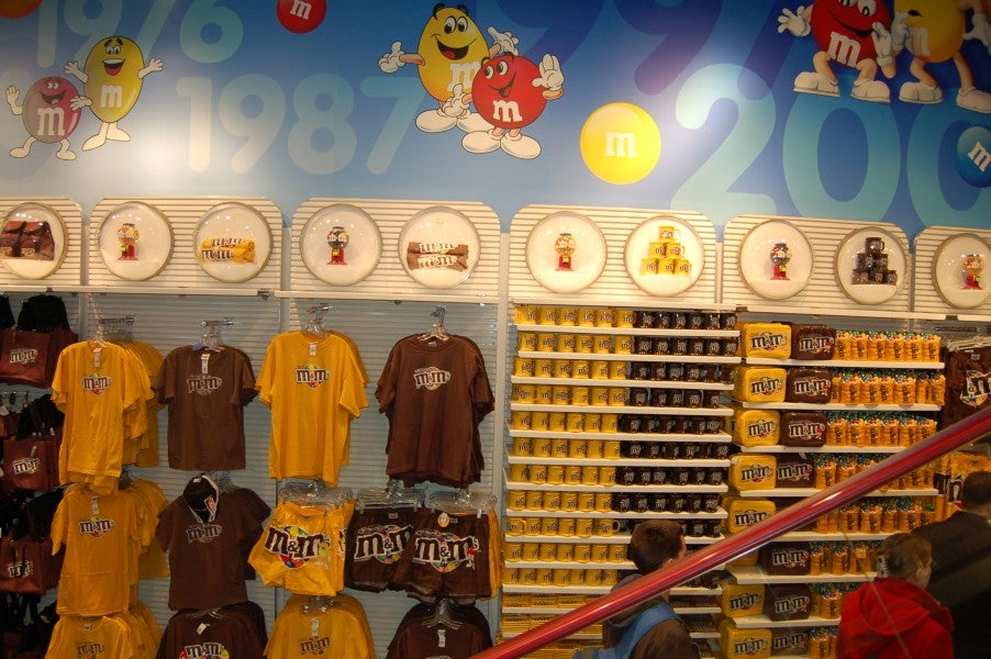 Juegos en M&M'S World