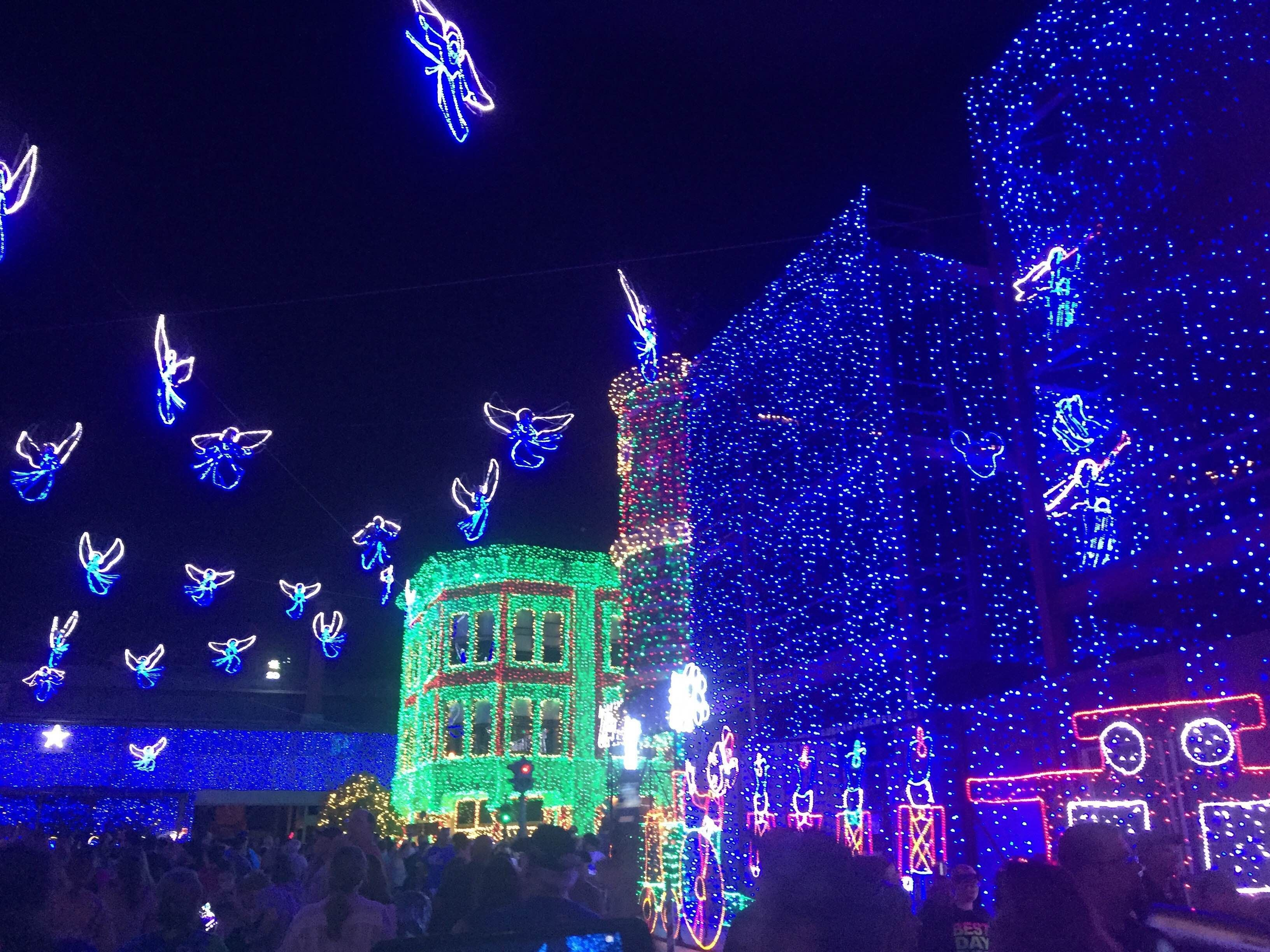 Luces de navidad en Disney's Hollywood Studios