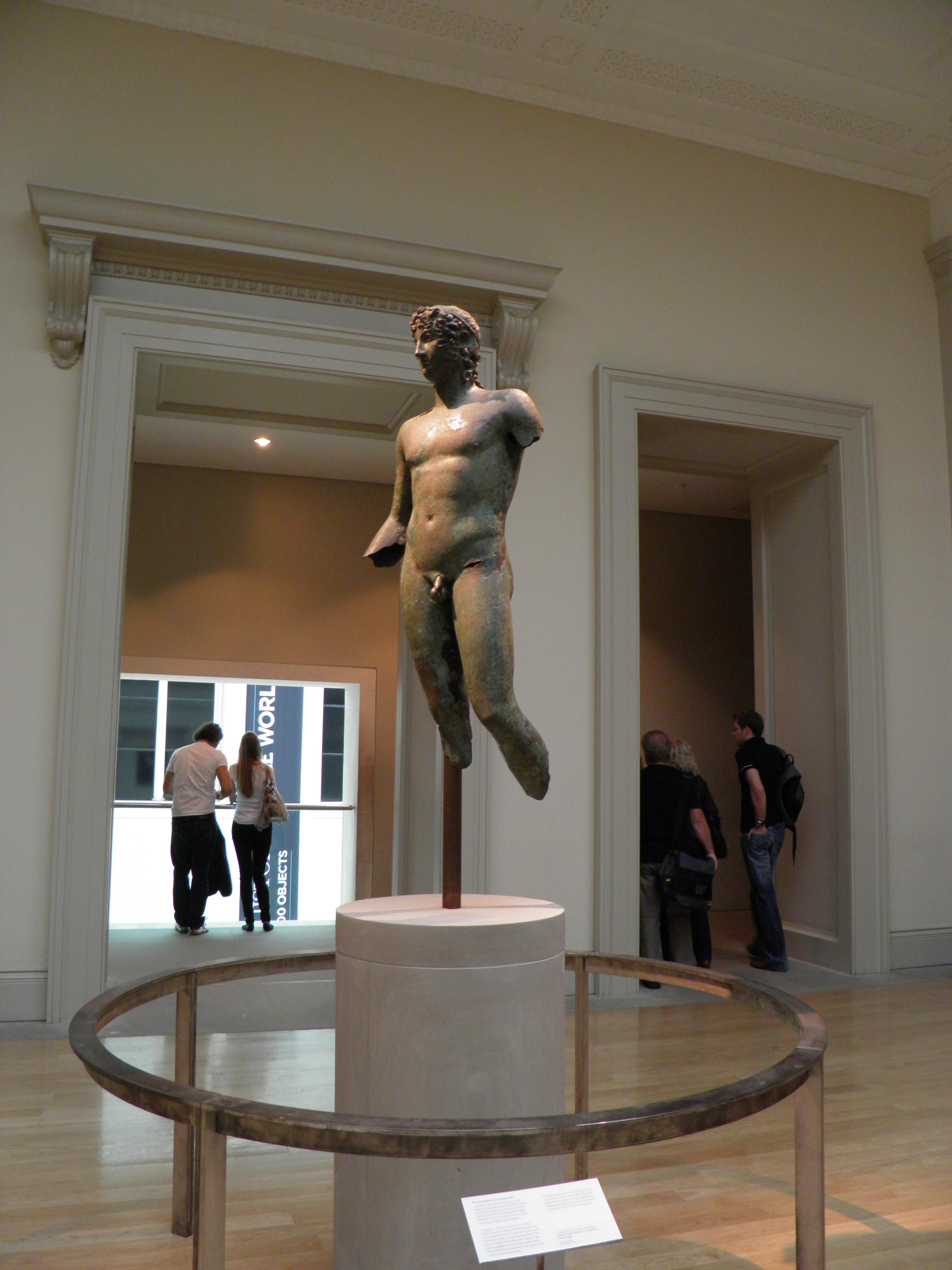Estatua en National Gallery