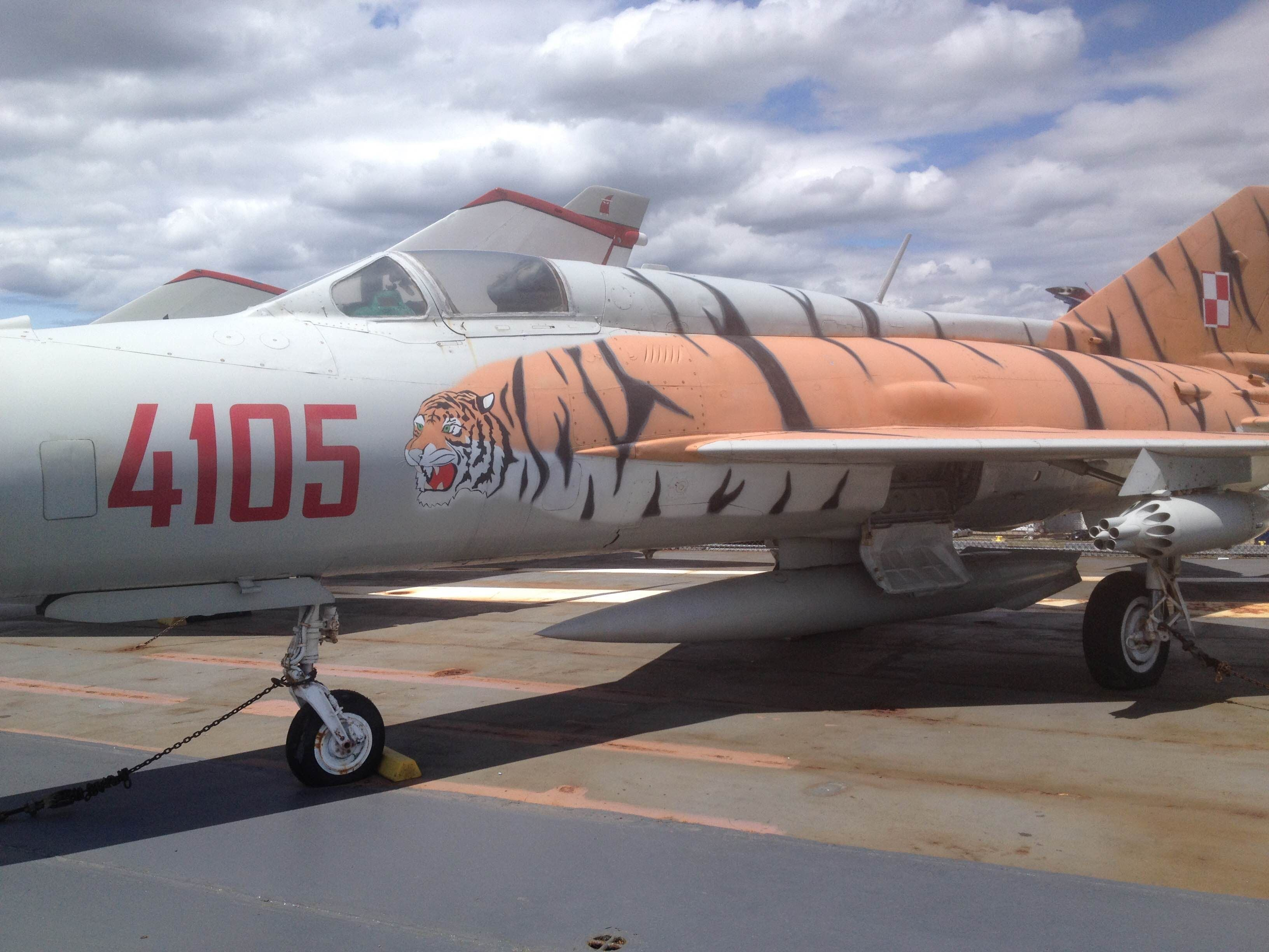 McDonnell Douglas F-4 Phantom II en Intrepid Sea-Air Museum