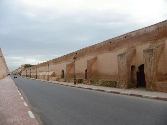 Walls of Moulay Ismail