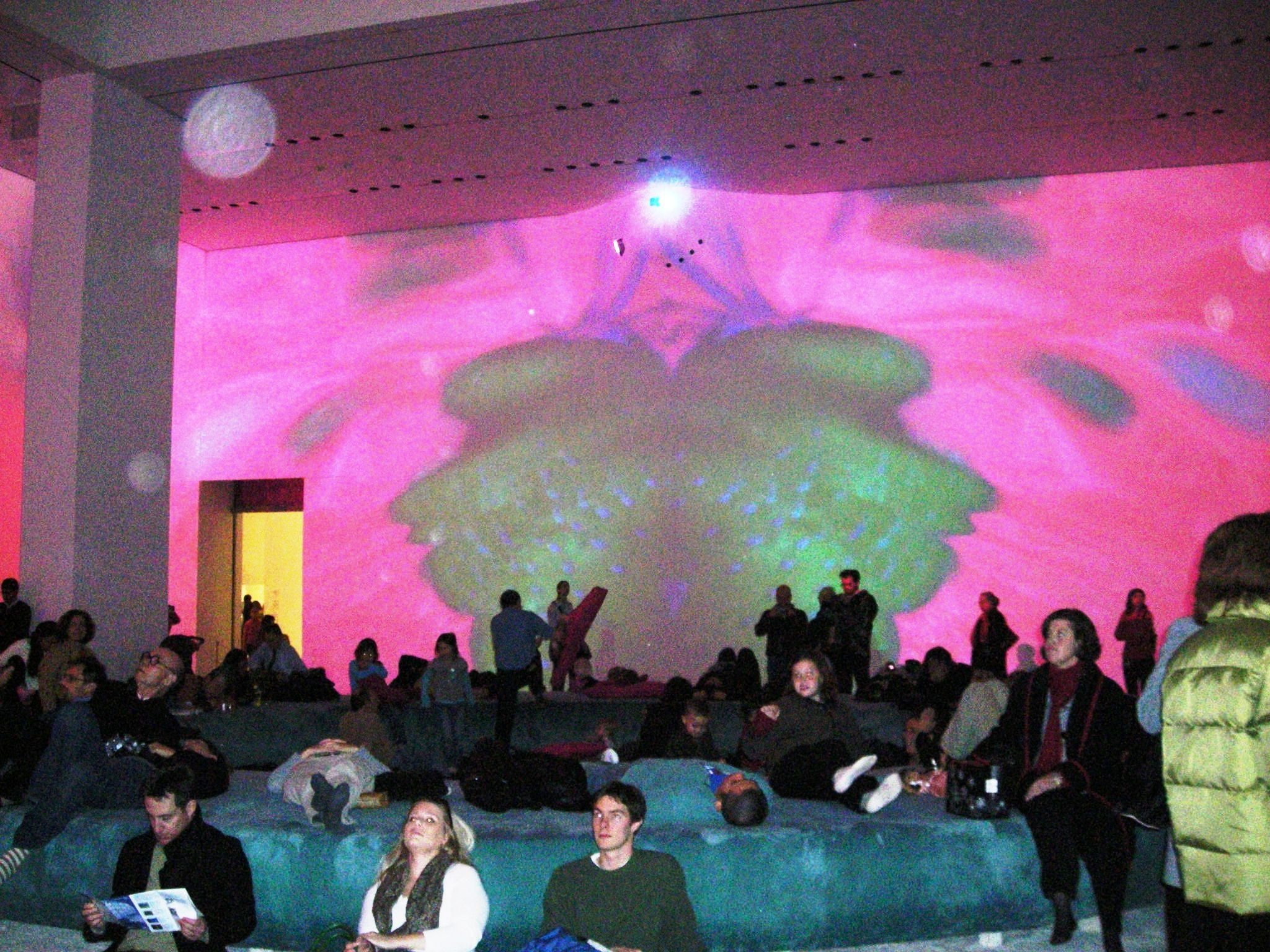 Sala de conciertos en Museum of Modern Art - MoMA