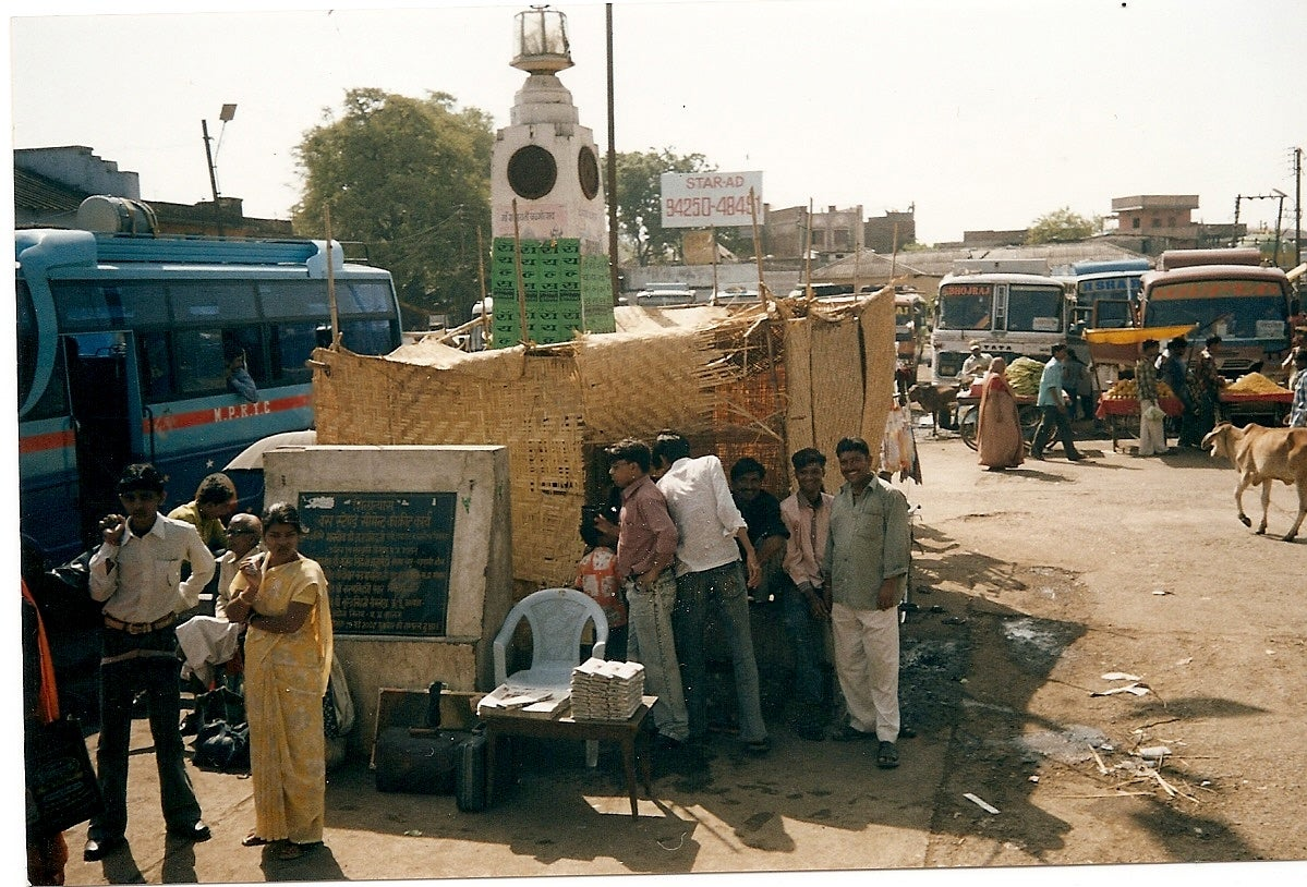 Bus station, Jaisalmer