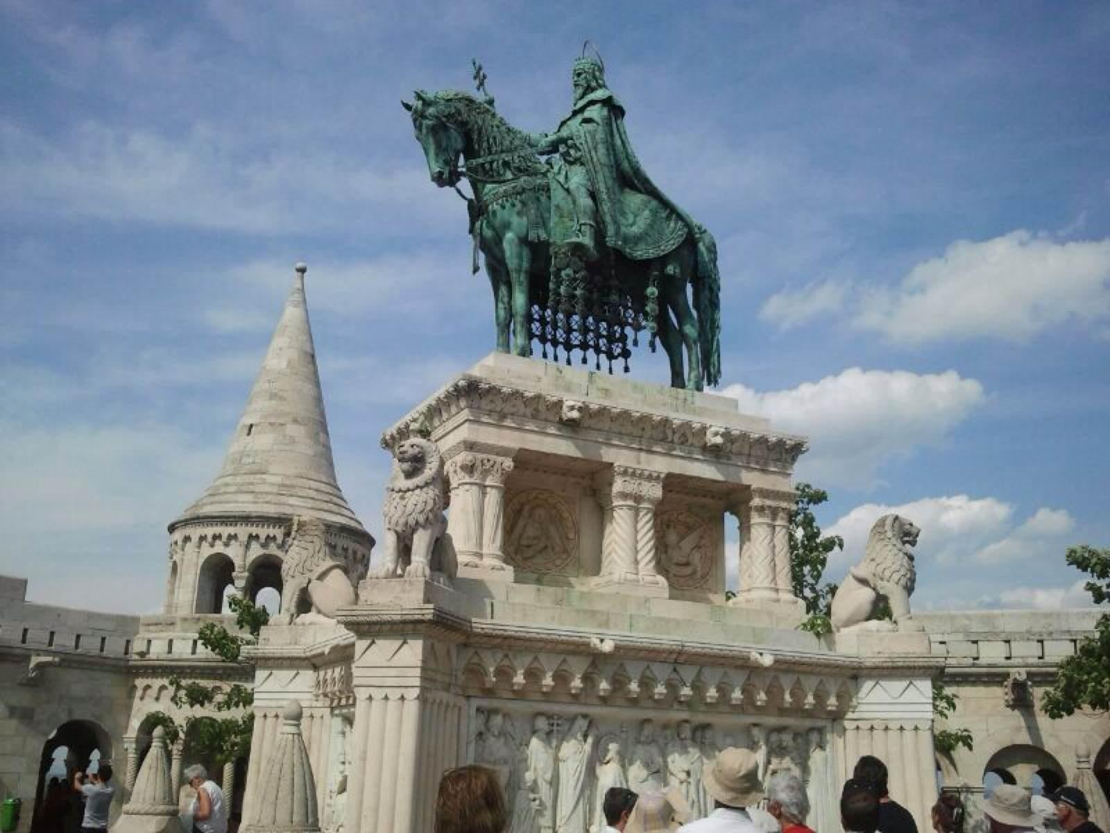 Town in Fisherman's Bastion