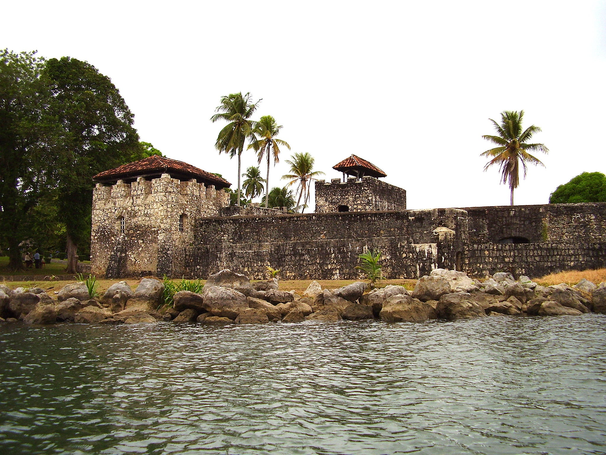 Pared en Castillo San Felipe