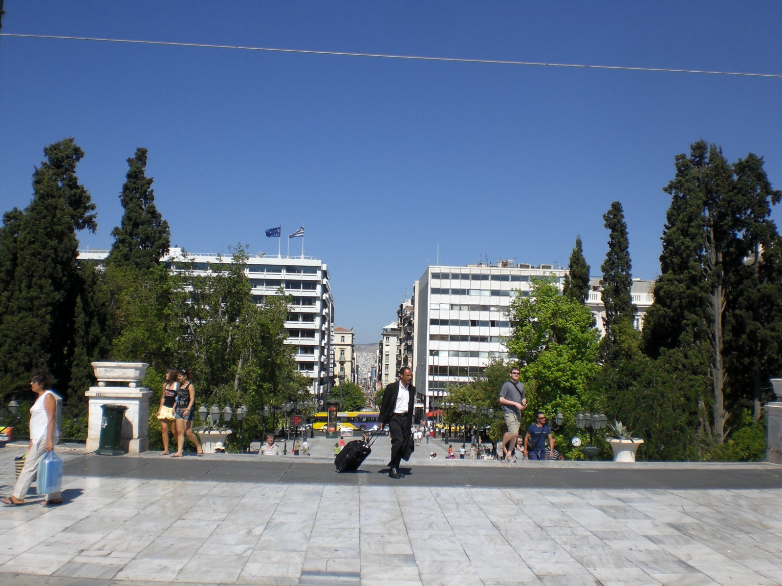 Memorial en Plaza de Syntagma