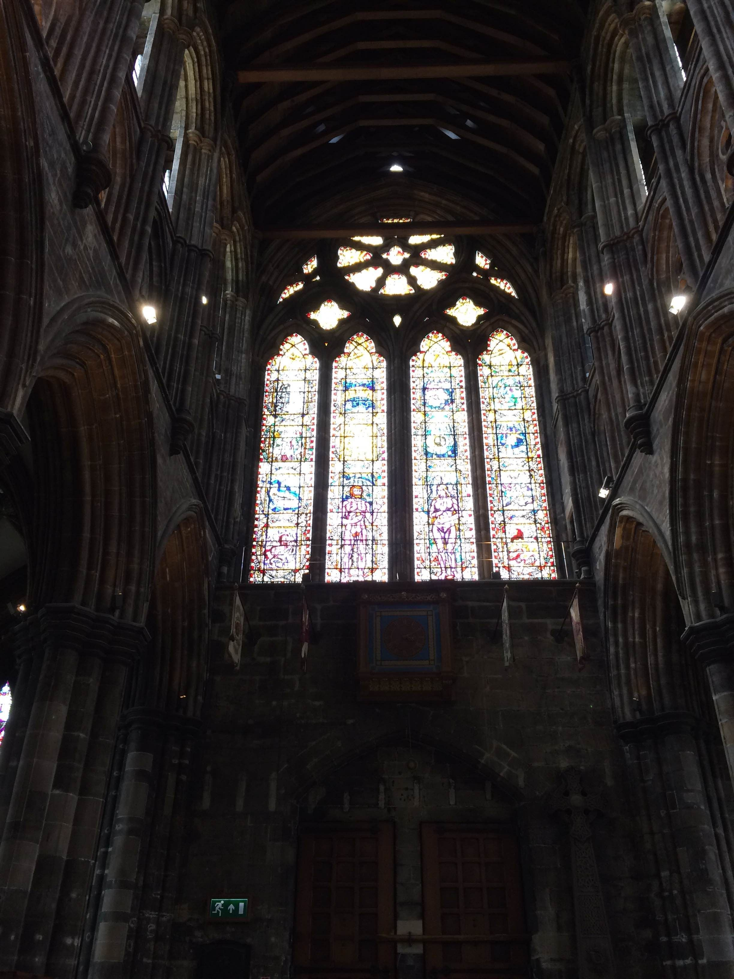 Edificio en Catedral de Glasgow - High Kirk