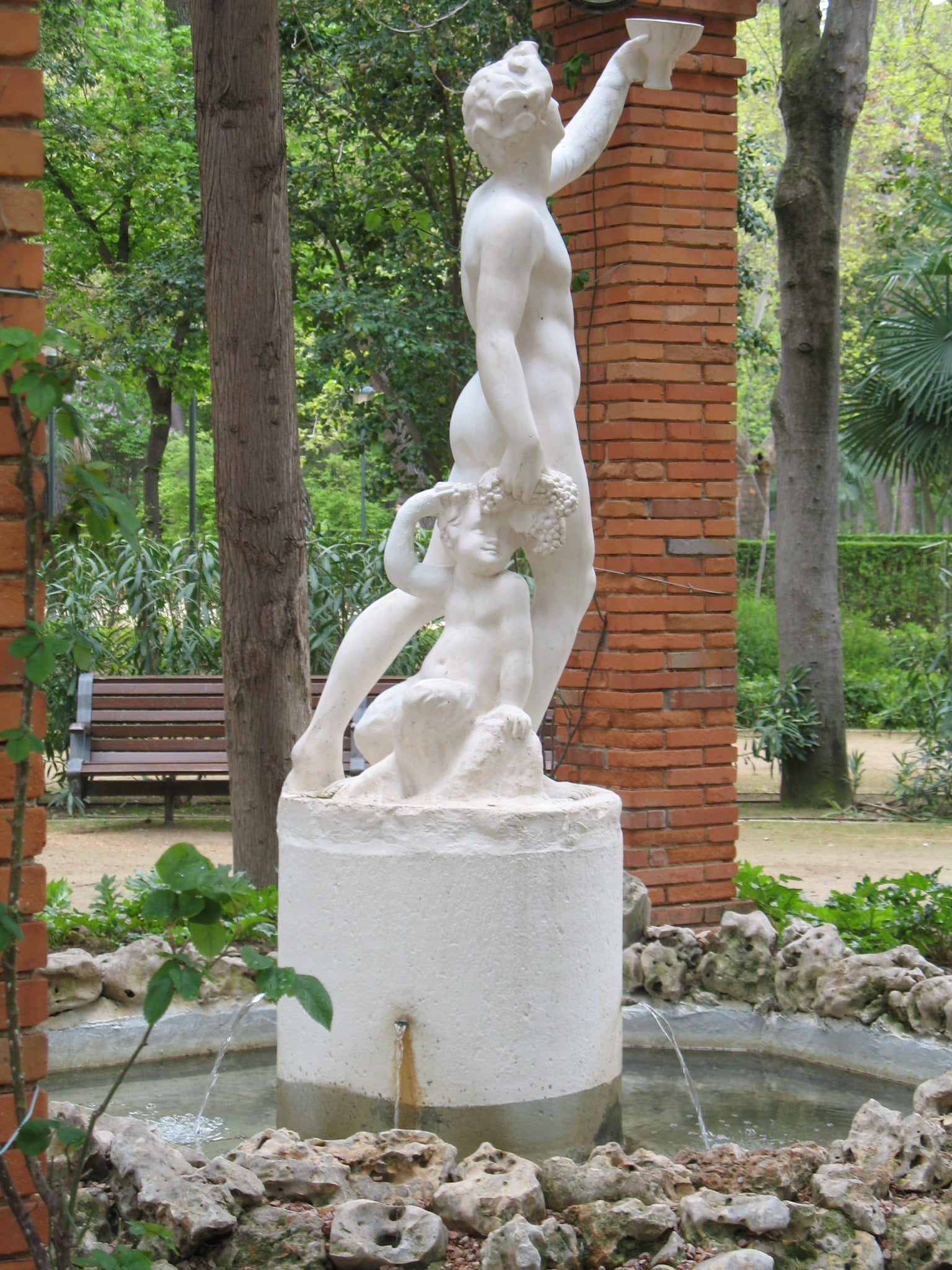 Fountain of the Nude