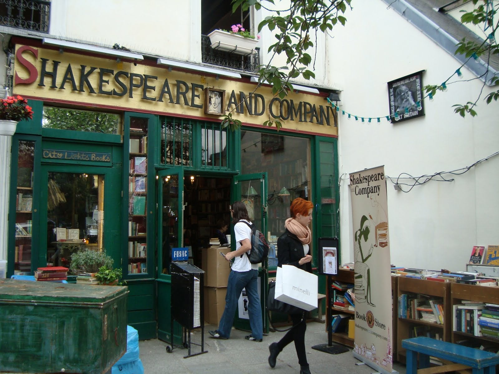 Taberna en Shakespeare & Co.