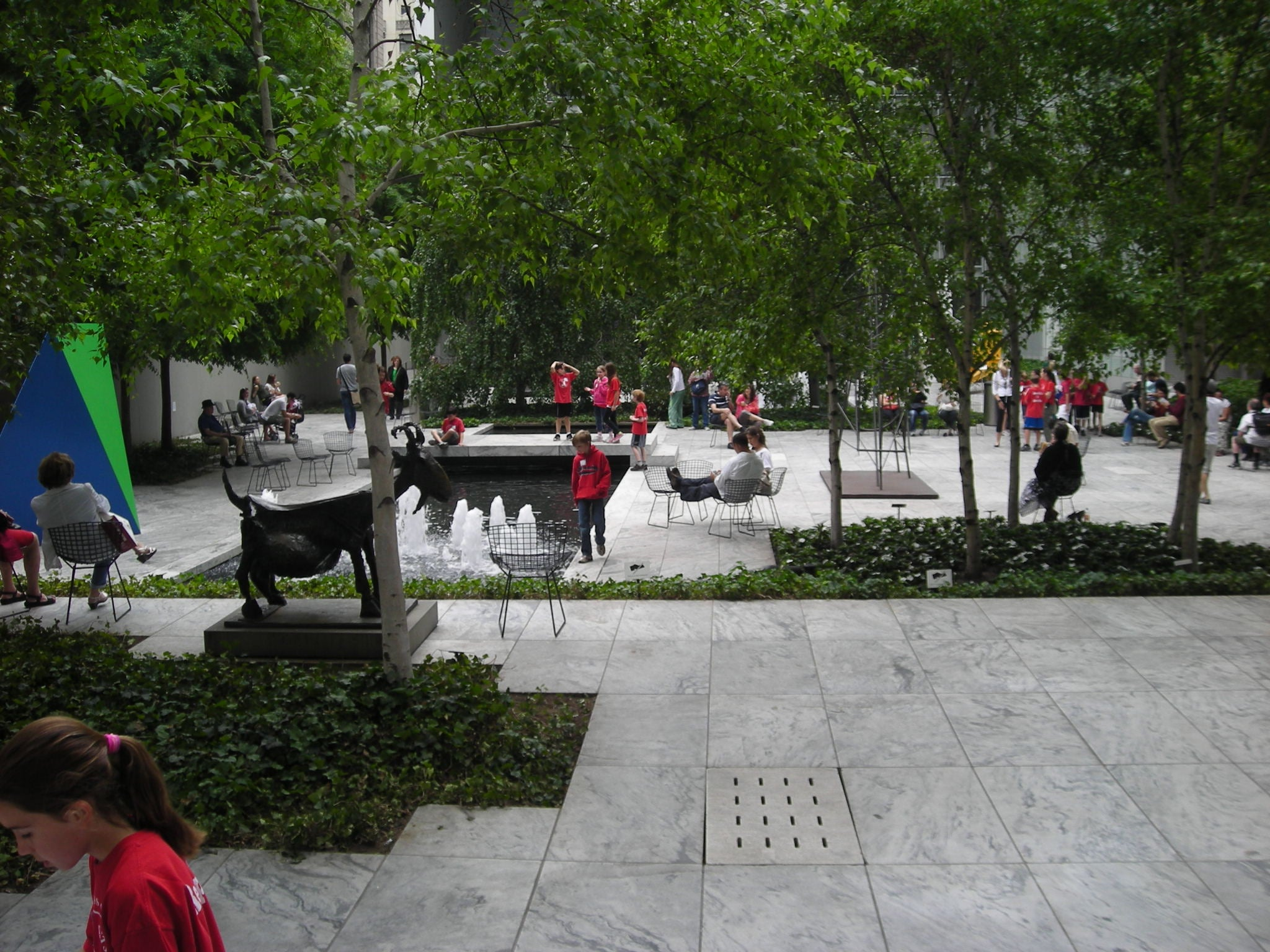 The Abby Aldrich Rockefeller Sculpture Garden