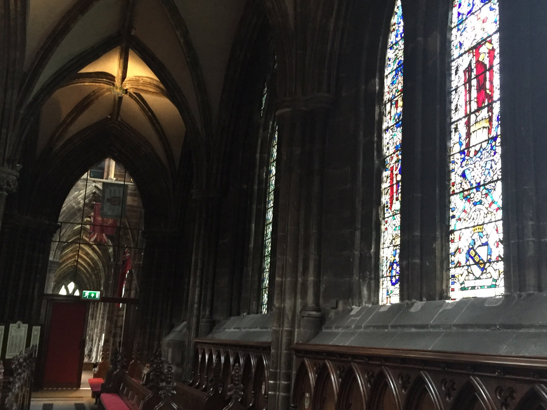 Ventana en Catedral de Glasgow - High Kirk