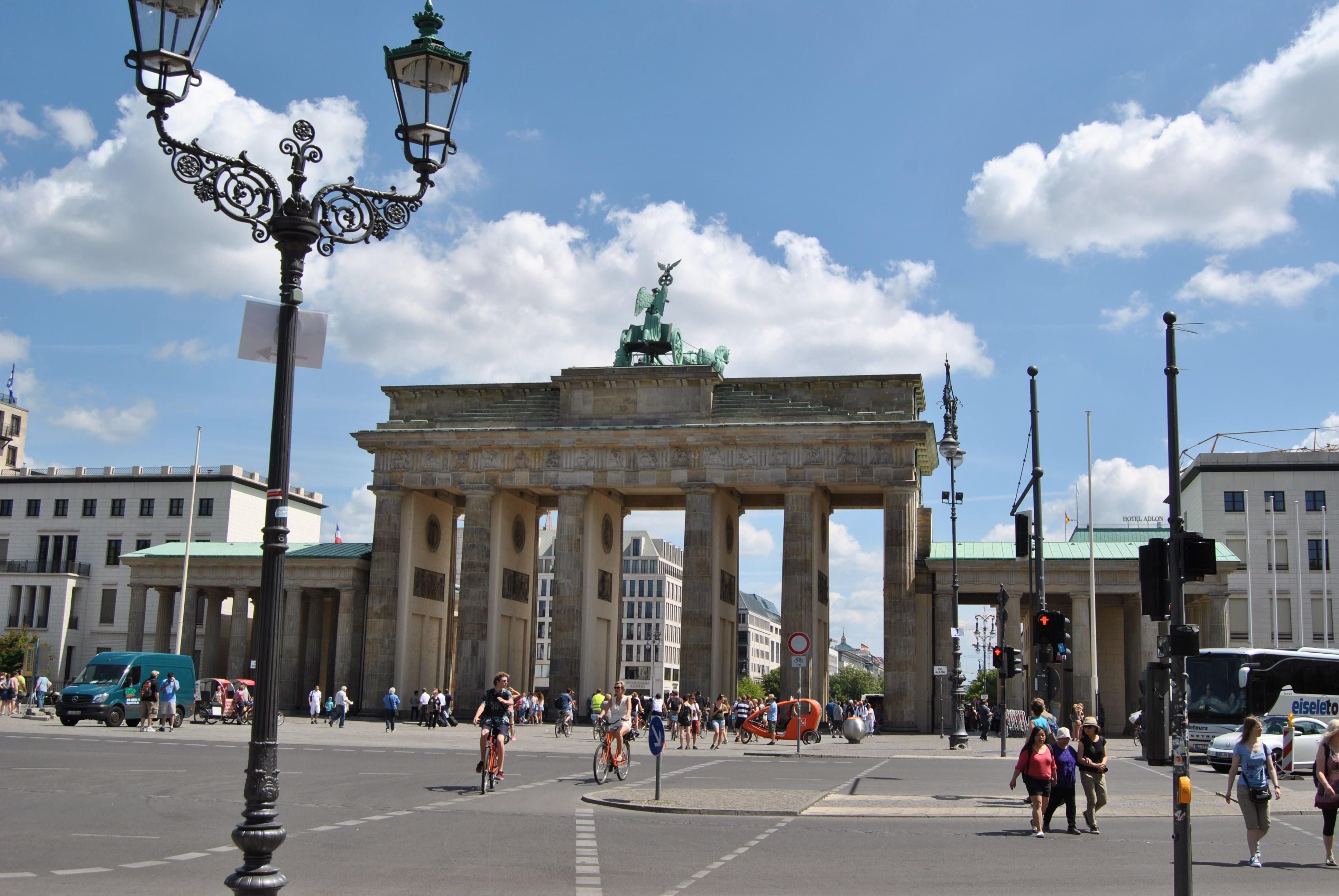 Stadium in Brandenburg Gate